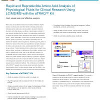 Rapid and Reproducible Amino Acid Analysis of Physiological Fluids