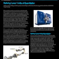 Defining LOD Analog vs Pulse Counting Detector