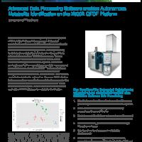 Advanced Data Processing Software enables Autonomous Metabolite Identification