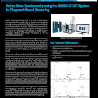 Native Mass Spectrometry using the X500B QTOF System