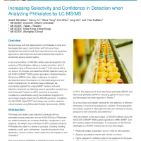 Increasing Selectivity and Confidence in Detection when Analyzing Phthalates by LCMS
