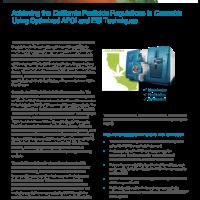 Achieving the California Pesticide Regulations in Cannabis Using Optimized APCI and ESI Techniques